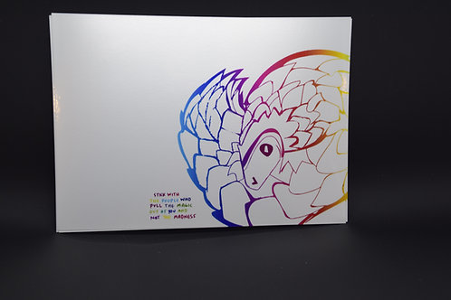 Magic Pangolin: Original prints by Christina Ward