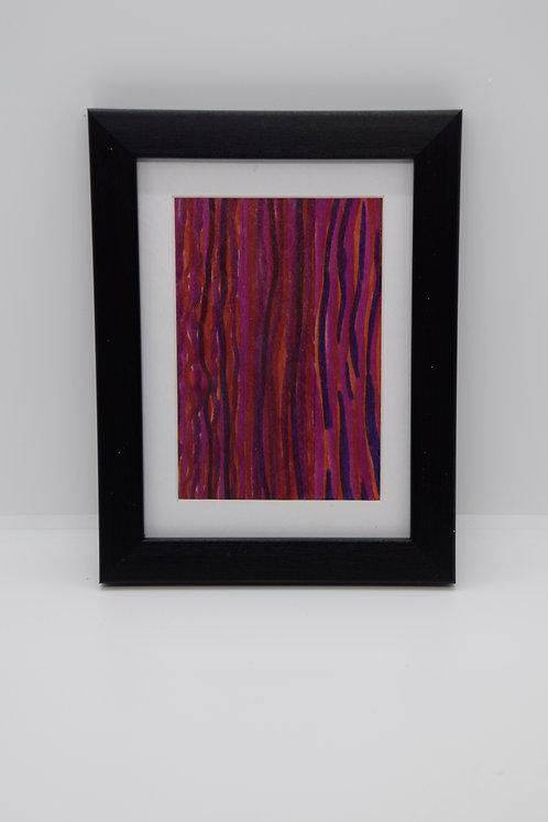 #34 Art Together is Better - Wooden stick framed creation