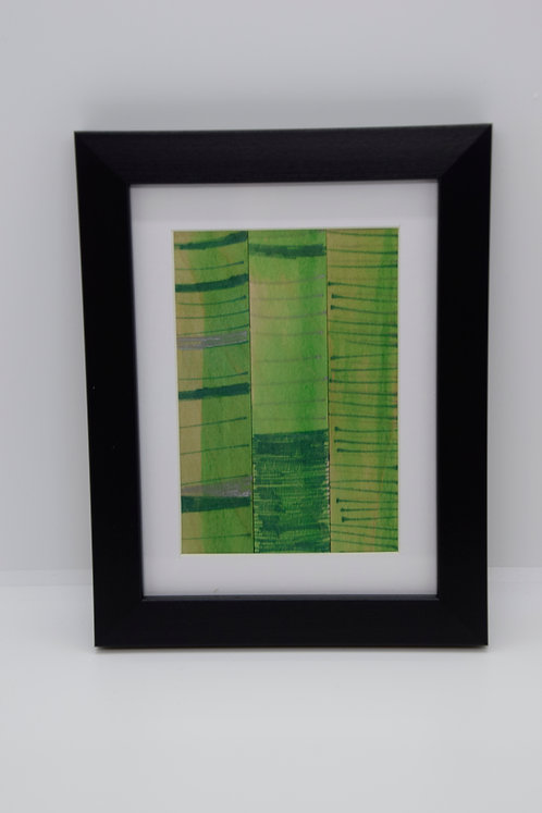 #10 Art Together is Better - Wooden stick framed creation