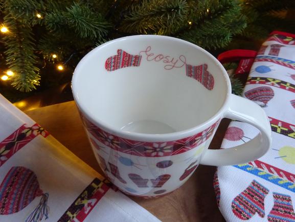 Fair Isle mug