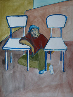 Etre assis entre deux chaises
