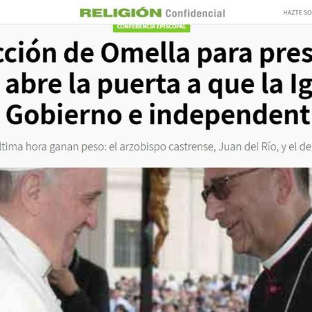 JACQUES P. EN LA PRENSA: La elección de Omella para presidir la Conferencia abre la ...