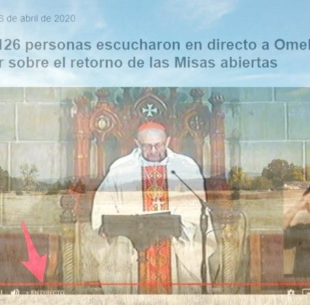 """DE ROJOS Y MARICONES"""", EL CARDENAL OMELLA, SUS MISAS ABIERTAS Y SU COTA DE AUDIENCIA TELEVISIVA"""