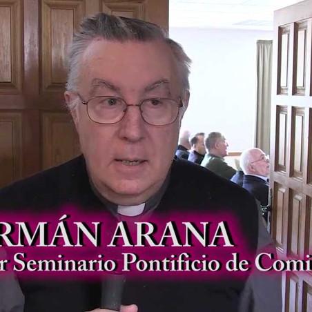 GERMÁN ARANA INTENTÓ COACCIONAR AL NUEVO ARZOBISPO DE ZARAGOZA MONS. VICENTE JIMÉNEZ