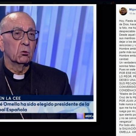 TRES AÑOS DE UNA SECULARIZACIÓN, SIN CORAZÓN DE CARNE, OMELLA COMO EICHMANN