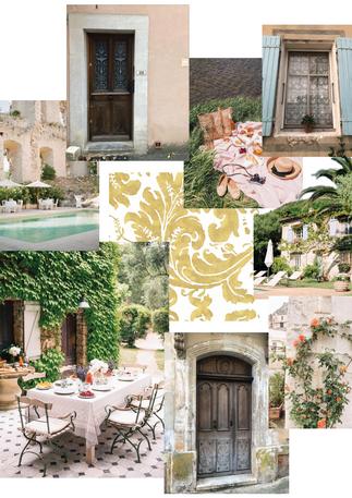 Provence Concept Board