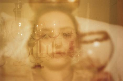 self portrait in wine
