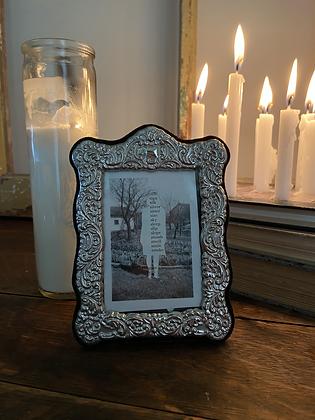 silver smoke- framed
