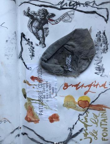 orangina, from a train