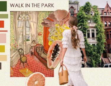 Walk In The Park Color Story