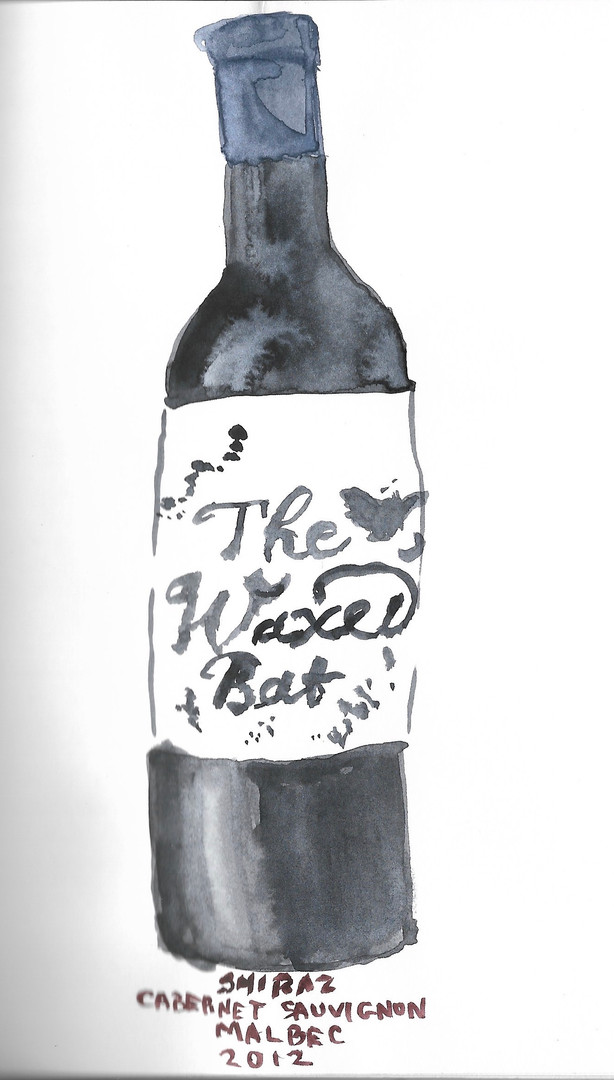 the waxed bat