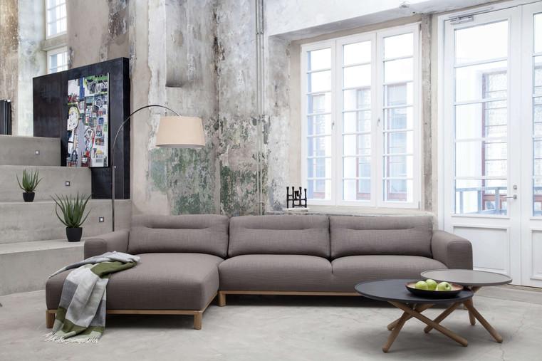 Ziemeļu akcents dīvāni, apgasmojums un mēbels