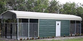 Carport Kennel Angus Portable Buildings