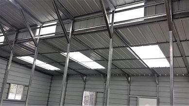 Angus Portable Buildings Metal Building Skylights
