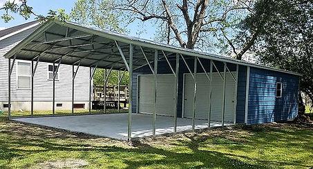 Angus Portable Buildings Carport Storage