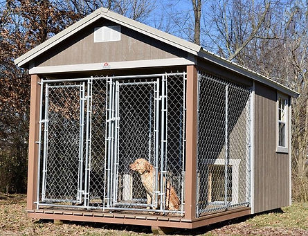 Angus Portable Buildings Dog Kennel