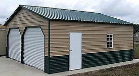 Angus Portable Buildings Residential Garage