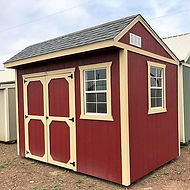 Angus Portable Buildings Cottage Shed