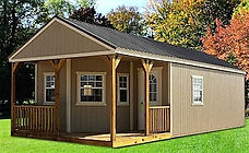 Angus Portable Buildings Deluxe Cabin