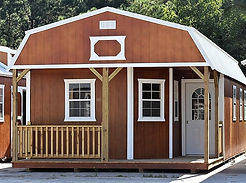 Angus Portable Buildgins Deluxe Lofted Barn Cabin