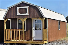 Angus Portable Buildings Lofted Barn Cabin