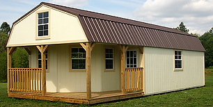 Angus Portable Buildings Deluxe Lofted Barn Cabin