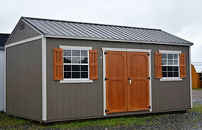Angus Portable Buildings Side Utilty
