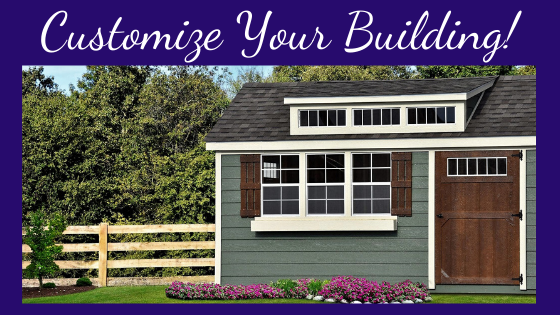 Angus Portable Buildings Customize Your Building