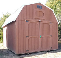 Angus Portable Buildings Best Value Wood Lofted Barn