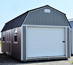 Angus Portable Buildings Lofted Barn Garage