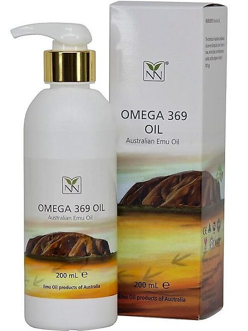 Ultra Pure Australian Emu Oil -6.8oz- Select from Natural or with Essential Oils