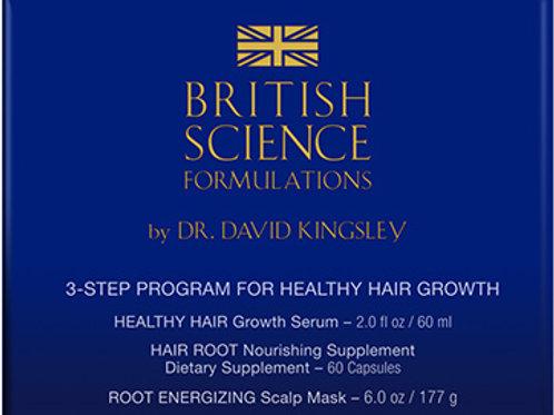 British Science 3-Step Program Front View