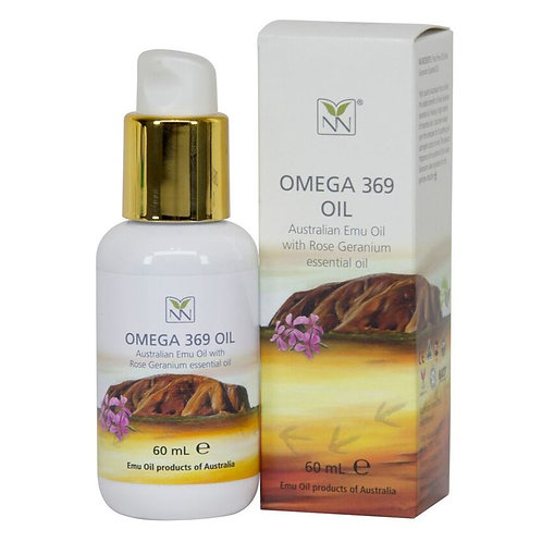 Y-Not Natural® Pure Australian Emu Oil w/ Rose Geranium Essential Oil - 2 oz