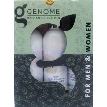 Luxury Natural Hair Growth, Repair, and Amplification System by Genome