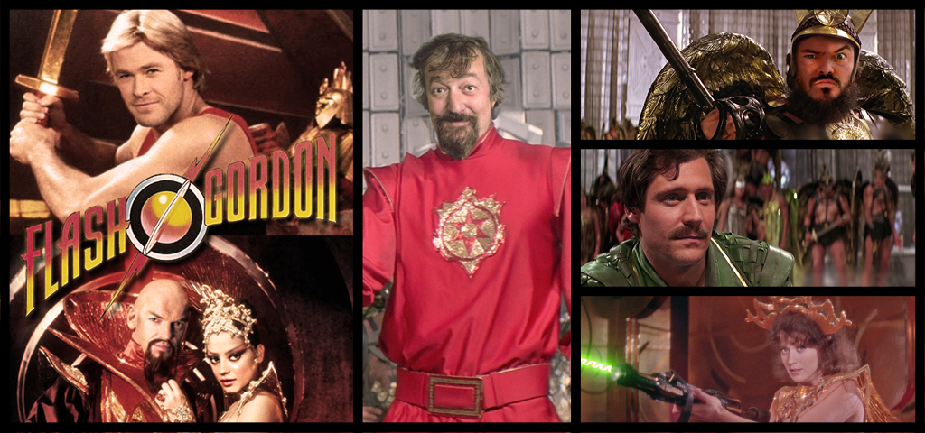 Flash Gordon whole cast