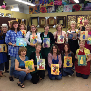 The Art Room in Orlando Florida.