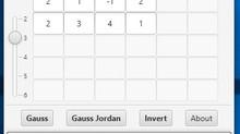 Εφαρμογή για την μέθοδο Gauss (Application)