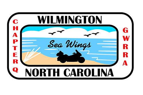 North Carolina Ch-C, Motorcyle  Flag