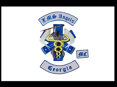 EMS Angels Motorcyle Flag