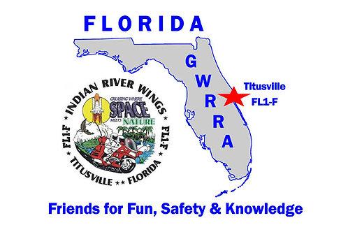 Florida, Ch-FL1-F  Motorcyle  Fla