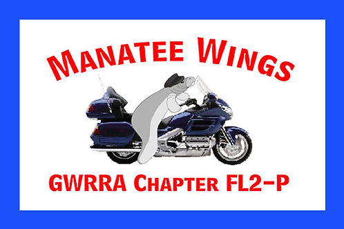 Florida, Ch-FL2-P  Motorcyle  Flag
