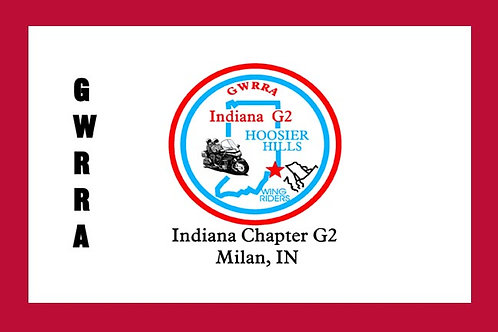 Indiana, Ch-G2 Motorcyle  Flag