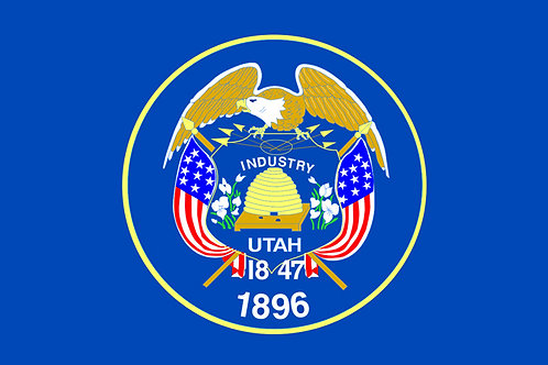 Utah Motorcycle flag