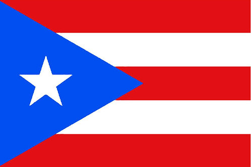 Puerto Rico Motorcycle flag