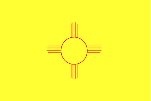 New Mexico Motorcycle flag