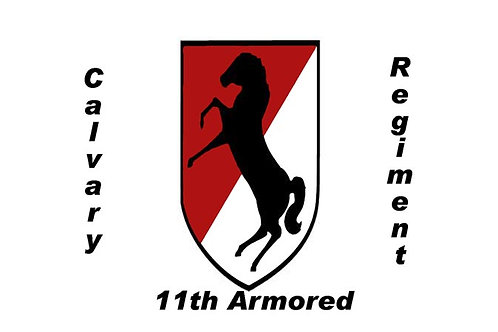 11th armored Cavalry Flag