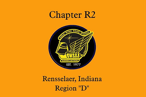 Indiana, Ch-R2 Motorcyle  Flag