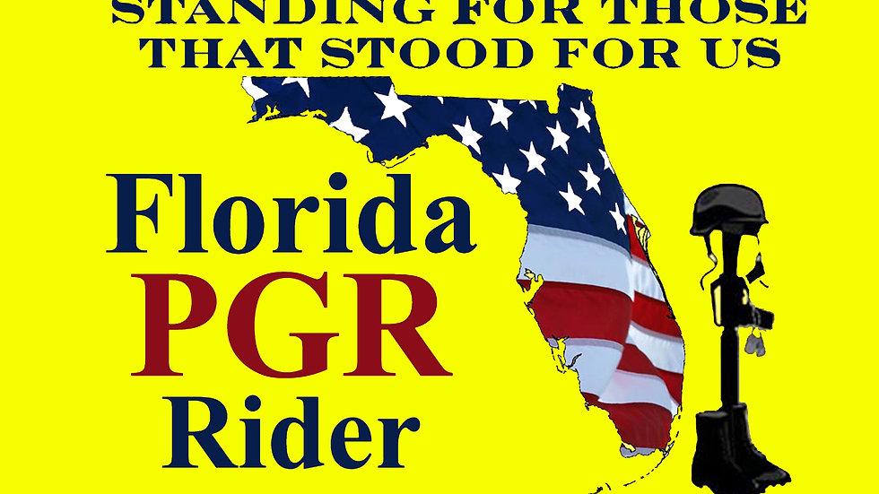 Florida PGR Motorcyle Flag
