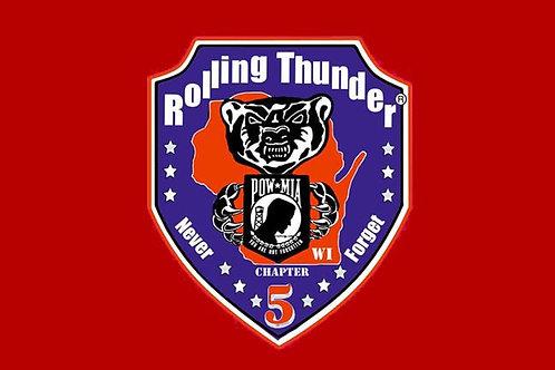 Rolling Thunder Flag
