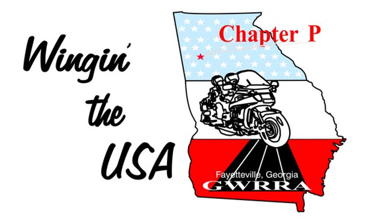 Georgia, Ch-P  Motorcyle  Flag